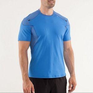 Lululemon light as air II blue shirt XL